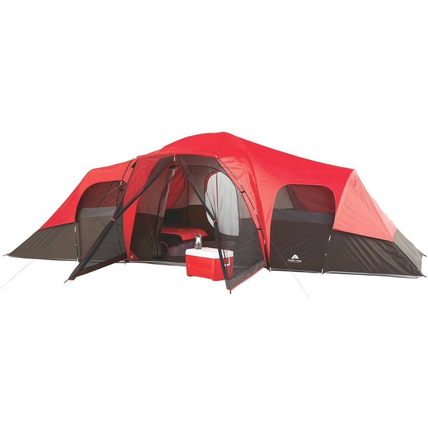 Ozark Trail 10-Person Family C&ing Tent  sc 1 st  Walmart & Family Camping Tents