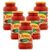(5 Pack) Ragu Sauce Mama'S Special Garden, 24 Oz
