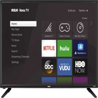 "RCA 40"" Class FHD (1080p) Roku Smart LED TV (RTR4060-W)"