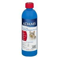 Adams Flea and & Tick Cleansing Shampoo Cat Shampoo, 12 Oz