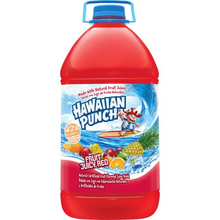 Hawaiian Punch Fruit Juicy Red, 128 Fl. Oz. (Red Halloween Alcoholic Punch)