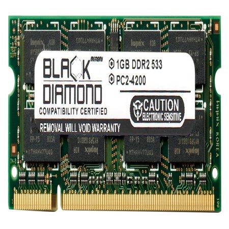 3690 Series - 1GB Memory RAM for Acer Aspire Notebooks 1650 Series, 7110, 3690, 3620, 5601AWLMi 200pin PC2-4200 533MHz DDR2 SO-DIMM Black Diamond Memory Module Upgrade