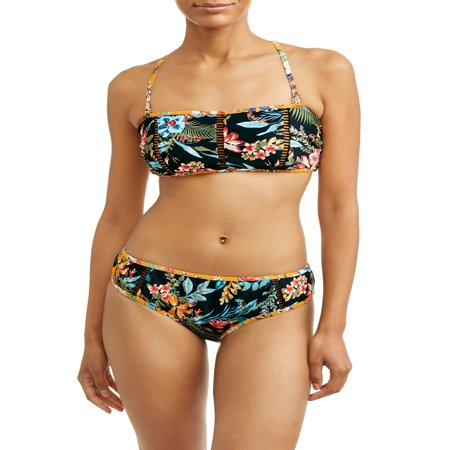 Women's Desert Bloom Bandeau Swimsuit (Billabong Bandeau)