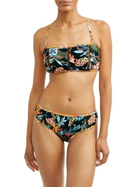 Women's Desert Bloom Bandeau Swimsuit Top