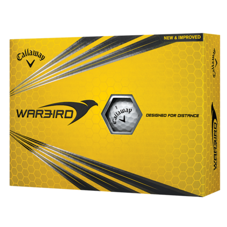 Callaway Warbird Golf Balls, 12 Pack (Led Golfball)