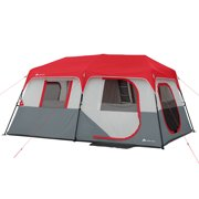 10fa9dc77bb Ozark Trail 8 Person Instant Cabin Tent with LED Lighted Poles and  Bluetooth Speaker