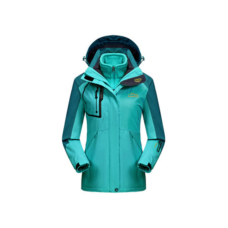 Womens Waterproof Ski Jacket 3-in-1 Windbreaker Winter Coat Fleece Inner for Rain Snow Outdoor (Alpina Womens Ski)