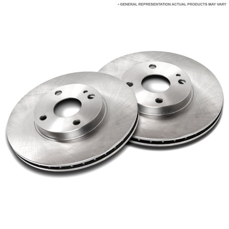 Front Brake Rotor Set For Ford Mustang Fairlane Falcon & Mercury Cougar