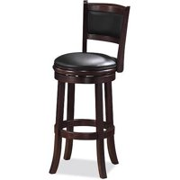 "Augusta Swivel Counter Stool 24"", Multiple Colors"