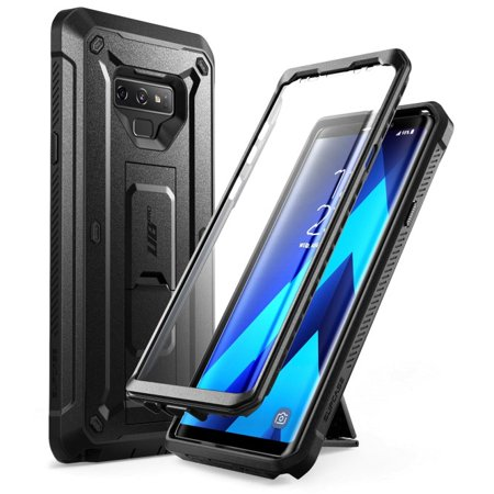 Samsung Galaxy Note 9 Case, SUPCASE Full-Body Rugged Holster Case with Built-In Screen Protector for Galaxy Note 9 (2018 Release), Unicorn Beetle Pro Series - Retail Package (Black) Black Pvc Holster Case