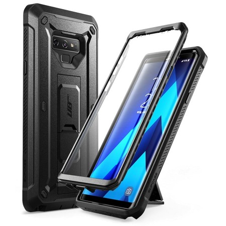 Pro Series Cell Phone Case (Samsung Galaxy Note 9 Case, SUPCASE Full-Body Rugged Holster Case with Built-In Screen Protector for Galaxy Note 9 (2018 Release), Unicorn Beetle Pro Series - Retail Package (Black) )