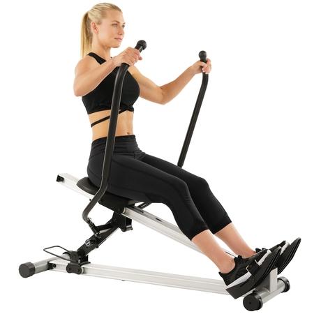 - Sunny Health & Fitness SF-RW5720 Full Motion Rower, 350lb Weight Capacity