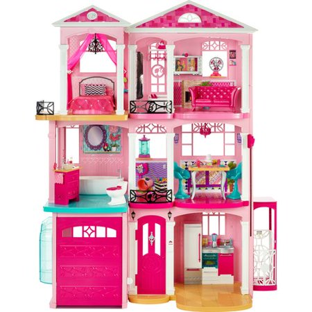 Barbie Dreamhouse Playset With 70 Accessory Pieces
