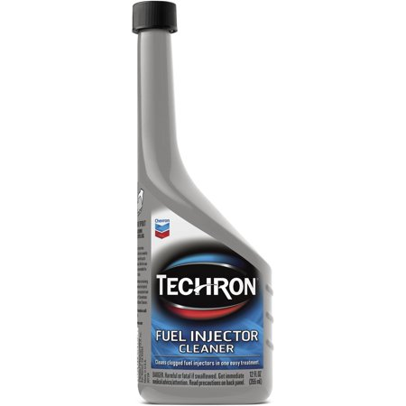 Chevron Techron Fuel Injector Cleaner, 12 oz (Fuel Injector Connector)