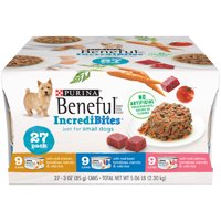 Purina Beneful IncrediBites Adult Wet Dog Food Variety Pack - (27) 3 oz. Cans