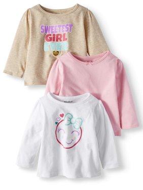 84f89dde3 Pink Baby Girls Bodysuits - Walmart.com