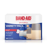 Band-Aid Brand Adhesive Bandage Variety Pack, Assorted Sizes, 280 ct