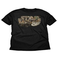 Solo: A Star Wars Story Millennium Falcon Realtree Boys Black Graphic T-Shirt