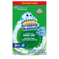 (2 Pack) Scrubbing Bubbles Bathroom Grime Fighter Spray, Citrus, 32 Ounces