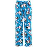Frosty the Snowman Men's Christmas Sueded Fleece Pajama Pants