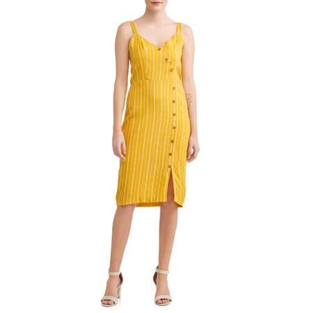Women's Button Detail Dress - Express Dresses Sale