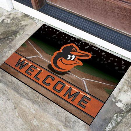 Baltimore Orioles Rug - Baltimore Orioles Crumb Rubber Door Mat