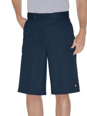 """Big Men's Loose Fit 13"""" Multi-Pocket Work Short"""