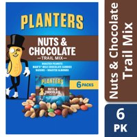 Planters Trail Mix Nuts & Chocolate 6 pack Carton