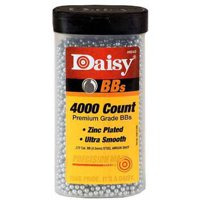 DAISY BOTTLE .177 BBS ZINC-PLATED STEEL 00CT