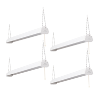 Honeywell LED 4' Linkable Multi-Mode Shop Lights (4 Pack)