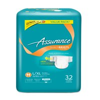 Assurance Stretch Briefs Unisex, Ultimate, L/XL, 16 Ct