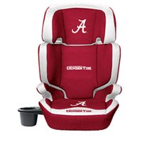 Lil Fan NCAA 2-in-1 High Back Booster Car Seat, Alabama Crimson Tide