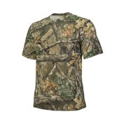 fb25d86b Realtree Edge Camo Short Sleeve Cotton Crew Neck by Hyde Gear ? Breathable,  Outdoor,