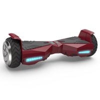 "Hoverboard Flash Wheel Two-Wheel Self Balancing Electric Scooter 6.5"" UL 2272 Certified Red"