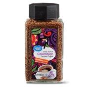 Great Value Colombian Instant Coffee, Medium Dark Roast, 7 oz