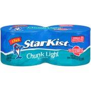 (8 Cans) StarKist Chunk Light Tuna in Vegetable Oil, 5 Ounce