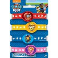 PAW Patrol Rubber Bracelet Party Favors, Assorted, 4ct