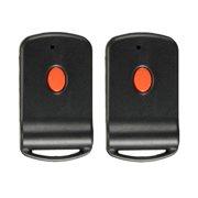 2pcs Alarm System Remote Garage Gate Car Home Door Key Transmitter For Multicode 300mhz 1089 3060