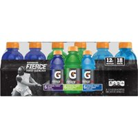 Gatorade Thirst Quencher Fierce Sports Drink Variety Pack, 12 Fl. Oz., 18 Count