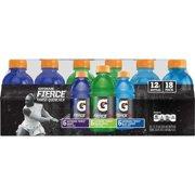 Gatorade Thirst Quencher Fierce Sports Drink, Variety Pack, 12 Fl Oz, 18 Ct