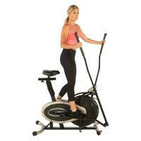 Exerpeutic GOLD XL9 Aero Elliptical and Exercise Bike Dual Trainer