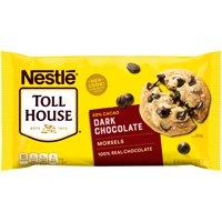 NESTLE TOLL HOUSE Dark Chocolate Morsels 20 oz. Bag