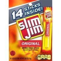 Slim Jim Original Smoked Snack Stick, 0.28 Oz., 14 Count
