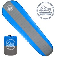 Self Inflating Sleeping Pad by Western Owl Outfitters, for Camping, Backpacking, Hiking and Outdoors