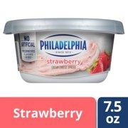 Philadelphia Strawberry Cream Cheese Spread 7.5 oz Tub