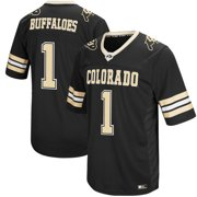 a96579982f9 Men s Colosseum Black Colorado Buffaloes Hail Mary II Football Jersey
