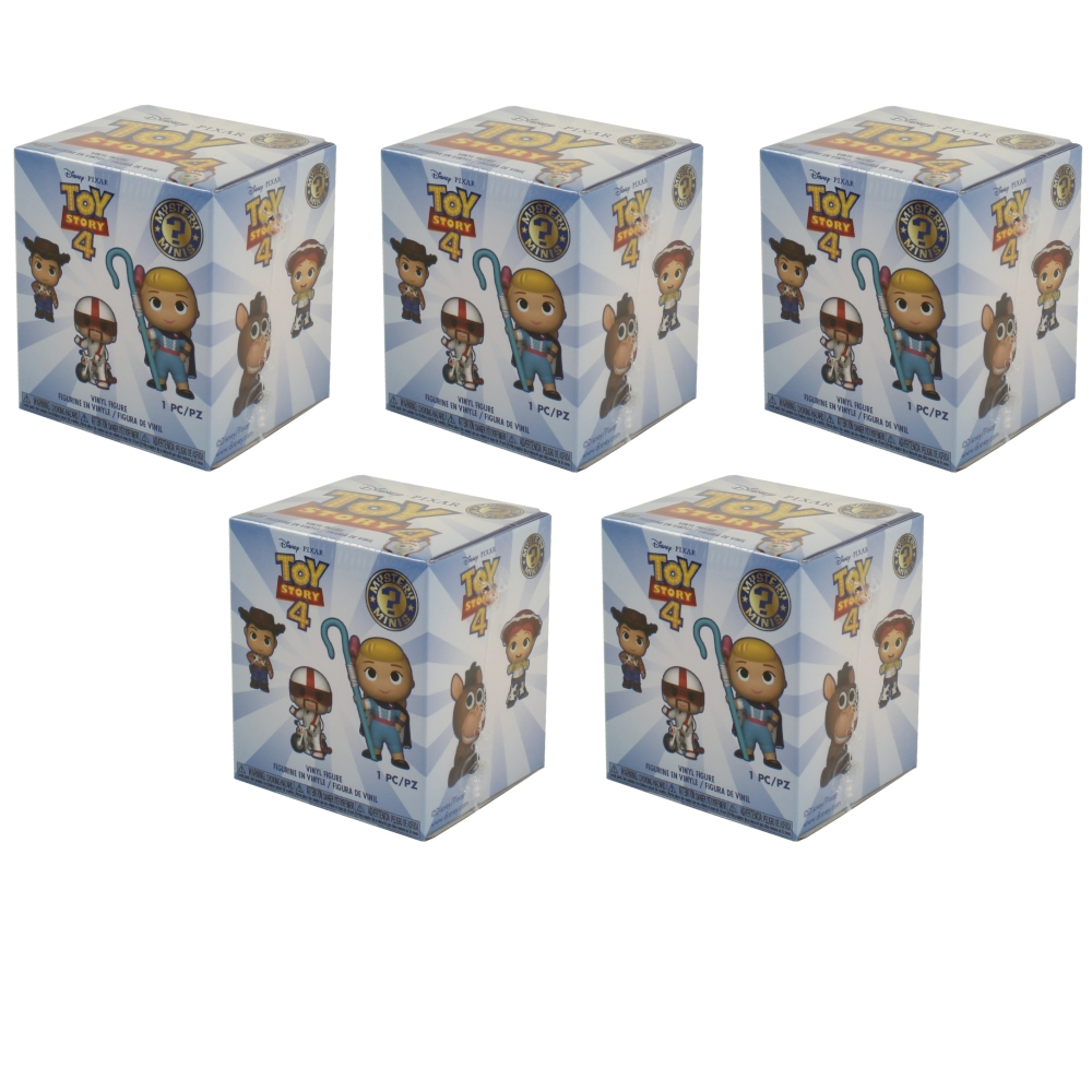 Funko Mystery Mini Figures Mad Max Fury Road BLIND BOXES - New 5 Pack Lot