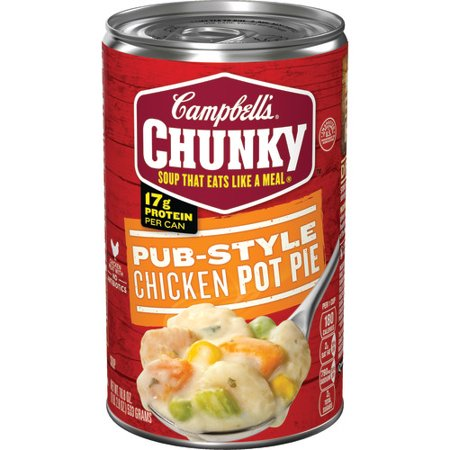 Campbells Chunky Pub Style Chicken Pot Pie Soup 188 Oz Walmart
