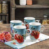 The Pioneer Woman Melody 18oz Cups, Set of 4