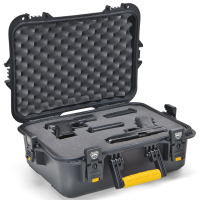 Plano All Weather X-Large Pistol & Accessories Case, Black